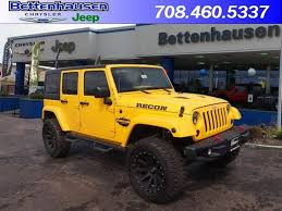 chrysler jeep wrangler get your one of a kind recon jeep new 2015 jeep wrangler