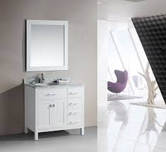 design element london single 36 inch modern bathroom vanity set