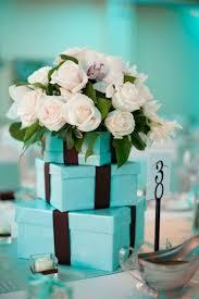 Tiffany Blue Wedding Centerpiece Ideas by Tiffany Blue Centerpieces Cute Wedding Centerpiece In Tiffany