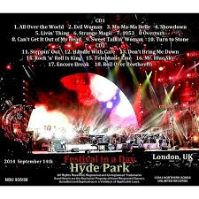 Evil Woman Electric Light Orchestra Live In Hyde Park 2014 2cd By Electric Light Orchestra Cd X 2