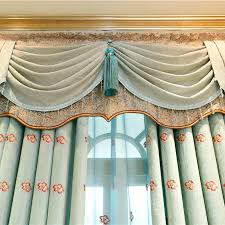 Custom Sheer Drapes Custom Bedroom Blackout Europe Vintage Style Curtains Double Side