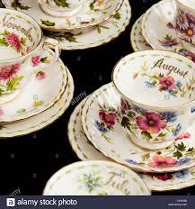 Flower Of The Month Full Set Of Vintage Royal Albert Porcelain