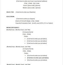 Ms Word Templates Resume Creative Design Microsoft Word Templates Resume 10 14 Free Samples