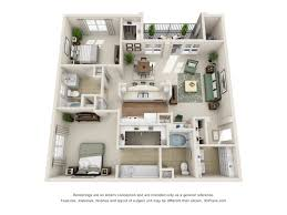 Floor Plan Of An Apartment Apartments For Rent In Frederick Md Century Clearbrook