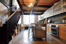 Home Room Ceiling Design Hawthorne Loft With Soaring Ceilings Lists For 359k Curbed Philly