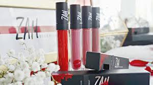 Lipstik Zaskia Adya Mecca zam by zaskia adya mecca lip swatches reviews makeup with