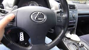 lexus steering wheel is250 is350 steeting wheel retro fit into is300 youtube
