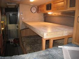 Best RV Bunks Images On Pinterest  Beds Vintage Campers - Rv bunk bed mattress