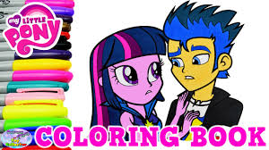 my little pony coloring book twilight sparkle flash episode