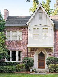 tudor style home ideas board and batten batten and white boards