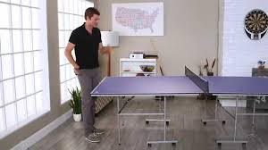 prince challenger table tennis table voit by lion sports sigma table tennis table product review video
