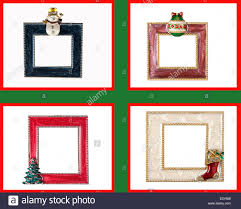 themed frames four christmas themed frames with snowman ornament tree and