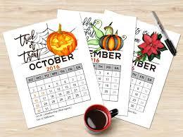 25 unique 2016 calendar ideas on school
