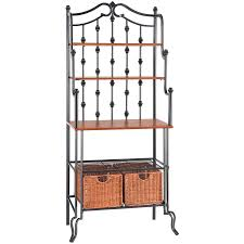 Cheap Bakers Rack Bakers Racks For Kitchens Captainwalt Regarding Bakers Racks 2074