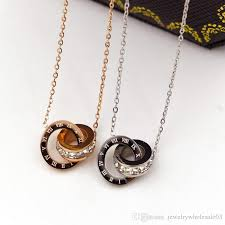 diamond box necklace images Wholesale korean jewelry box with new drill small diamond necklace jpg