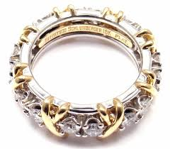 tiffany stone rings images Tiffany and co jean schlumberger sixteen stone diamond gold jpg