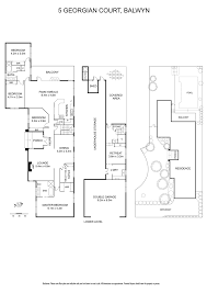Georgian Floor Plan by 5 Georgian Court Balwyn Vic 3103 Sold Realestateview