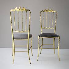 chaivari chairs ideas of pair of brass italian chiavari chairs for sale at 1stdibs