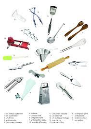 lexique de cuisine les ustensiles de cuisine des photos imagier avec impressionnant les