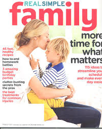 real simple magazine covers real parenting expert betsy brown braun in september s real simple
