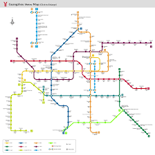 la metro rail map guangzhou metro maps subway lines stations