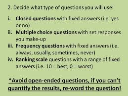 a survey is a set of questions created to find out more