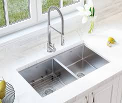 dual mount kitchen sink ancona valencia series 33 x 22 double bowl dual mount kitchen sink