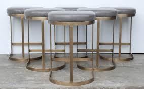 grey backless counter stools backless bar stools gray saddle bar