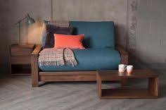 the stylish panama solid wood futon sofa bed includes a 7 layer
