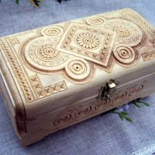 personalized wooden jewelry box shop carved wooden wedding rings on wanelo
