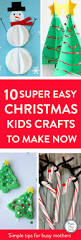 easy christmas crafts for kids to make super easy minimal and