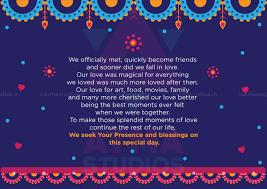 Unique Indian Wedding Invitation Cards Vivid Indian Wedding Invite Design Print Ready Invite Indian
