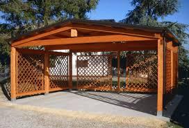 gazebo in legno per auto prezzi tettoie in legno per auto tettoia di legno modulare per quattro