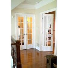 AAW Inc Rustic Lite Panel Double Interior French Doors Lite - Home depot french doors interior