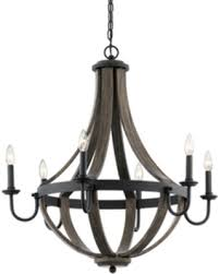 Kichler Lighting Amazing Deal On Kichler Lighting Merlot 30 In 6 Light Distressed