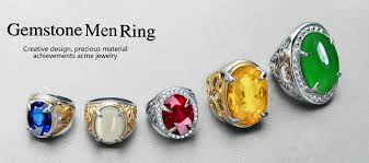 best stone rings images Oval shaped big single stone saudi arabia men 39 s ring best quality jpg