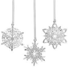 seashell snowflake ornament tropical