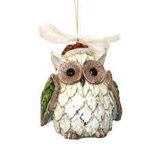 owl ornaments owl christmas tree ornaments whimsical owls for your christmas