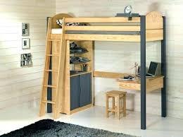 bureau gigogne lit mezzanine avec bureau et rangement lit mezzanine ado avec bureau