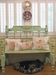 shabby chic benches foter