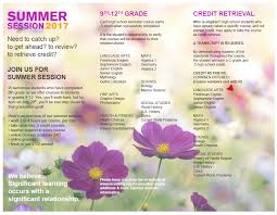 online health class for high school credit summer school brochure academy k 12 online schooling