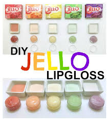 diy jello lip gloss inspiration made simple