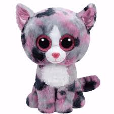 ty beanie boos 6 lindi pink cat soft toy boo bnwt ty