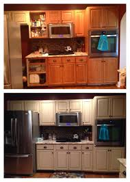 painting cabinets with milk paint cabinet refinish using general finishes linen milk paint and van