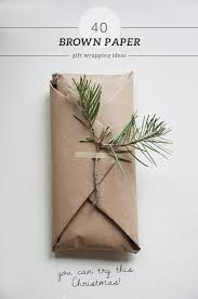 brown gift wrapping paper 40 brown paper gift wrapping ideas my paradissi