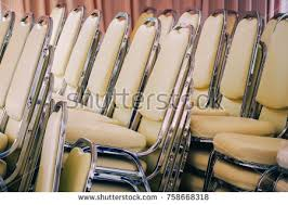 Stacking Banquet Chairs Pile Of Chairs Stock Images Royalty Free Images U0026 Vectors