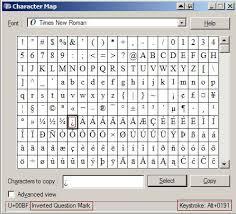 accent marks and diacriticals alt number combinations alt num