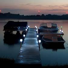 solar dock lights solar dock lights outdoor boat dock post light