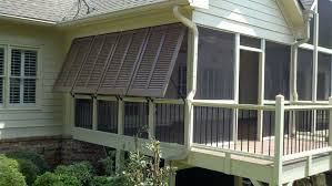 Bahama Awnings Bahama Shutters On A Porch By The Louver Shop Jpg
