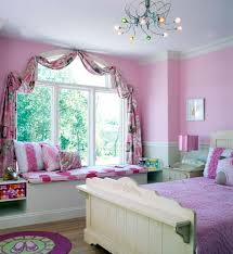 Pink Girls Bedroom Curtains Bedroom Marvelous Pink Wall Color Panels And Purple Covering